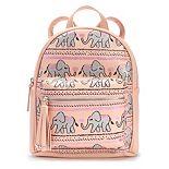 OMG Accessories Glitter Elephant Mini Backpack
