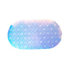 Bath Bliss Iridescent Anti-slip Bath Mat