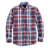Boys 4-20 Chaps Jordan Button-Down Shirt