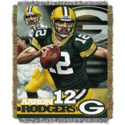 Green Bay Packers Aaron Rodgers Throw Blanket