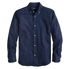Boys 4-20 Chaps Kayden Button-Down Shirt