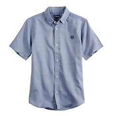 Boys 4-20 Chaps Jeremiah Button-Down Shirt