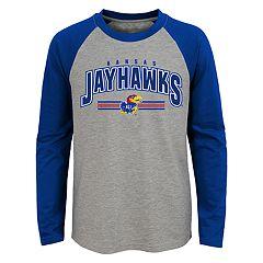 Boys 4-18 Kansas Jayhawks Audible Tee