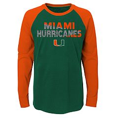 Boys 4-18 Miami Hurricanes Flux Tee