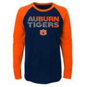 Boys 4-18 Auburn Tigers Flux Tee