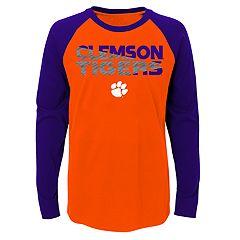 Boys 4-18 Clemson Tigers Flux Tee