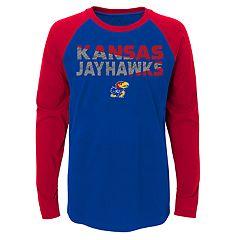 Boys 4-18 Kansas Jayhawks Flux Tee