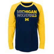 Boys 4-18 Michigan Wolverines Flux Tee