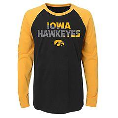Boys 4-18 Iowa Hawkeyes Flux Tee