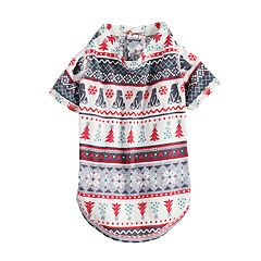 Pet Jammies For Your Families Polar Bear Fairisle Family Pajamas One-Piece Bodysuit by Cuddl Duds