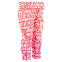 Toddler Girl Under Armour Ombre Logo Performance Capris