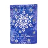 """Let It Snow"" Glitter Snow Indoor / Outdoor Garden Flag"