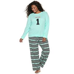 Plus Size SO® Cozy 2-pc. Pajama Set