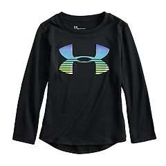 Toddler Girl Under Armour Logo Graphic Long-Sleeve Tee