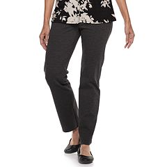 Women's Dana Buchman Slimming Straight-Leg Pull-On Ponte Pants