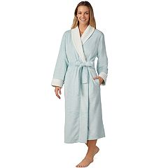 Women's Stan Herman Solid Plush Robe