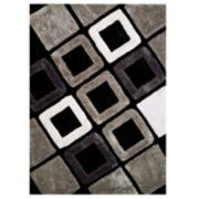 United Weavers Finesse Plush Geometric Shag Rug