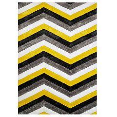 United Weavers Finesse Mellow Geometric Shag Rug