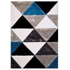 United Weavers Finesse Opulent Geometric Shag Rug