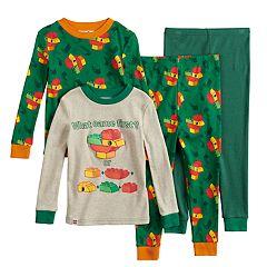 Toddler Boy Duplo Lego Tops & Bottoms Pajama Set