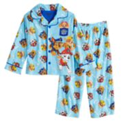 Toddler Boy Paw Patrol Chase, Marshall & Rubble Top & Bottoms Pajama Set