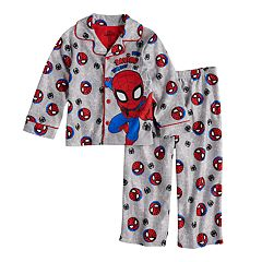 Toddler Boy Marvel Spider-Man 'Busy Saving The Day' Top & Bottoms Pajama Set