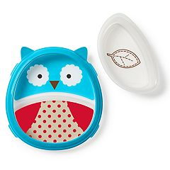 Skip Hop Owl Zoo Eat Neat Plate & Bowl