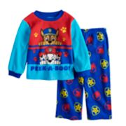 Toddler Boy Paw Patrol Chase & Marshall Top & Bottoms Fleece Pajama Set