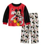 Disney's Mickey Mouse Toddler Boy Fleece Top & Bottoms Pajama Set