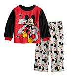 Disney's Mickey Mouse Toddler Boy Fleece Top & Bottoms Pajama Set