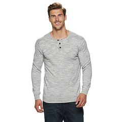 Big & Tall SONOMA Goods for Life™ Supersoft Modern-Fit Henley Sweater