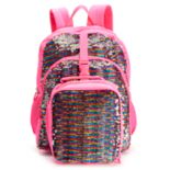 Kids Flippable Sequin Backpack & Lunch Bag Set