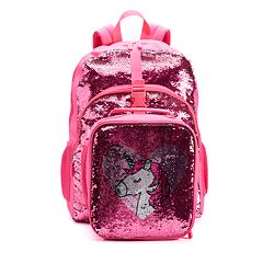 f42c68d2e4 Kids Flippable Sequin Backpack   Lunch Bag Set. Multi Pink Unicorn