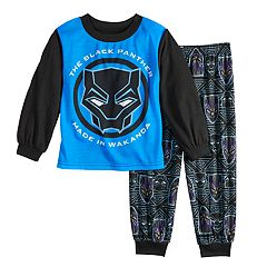 Toddler Boy Marvel Black Panther Top & Bottoms Pajama Set