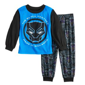 Toddler Boy Marvel Black Panther Top & Bottoms Pajama Set