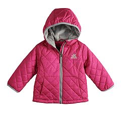 Baby Girl ZeroXposur Midweight Hooded Quilted Jacket