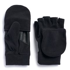 Men's Tek Gear™ HeatTEK Touchscreen Hybrid Convertible Gloves