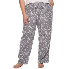 Plus Size SONOMA Goods for Life™ Flannel Pajama Pants