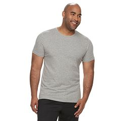 Big & Tall Apt. 9® Premier Flex Slim-Fit Crewneck Lounge Tee