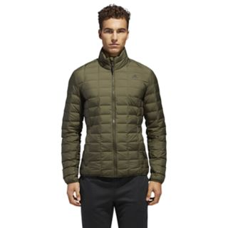 Men's adidas Outdoor Varilite Down-Fill Grid Jacket