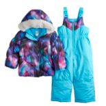 Baby Girl ZeroXposur Stella Galaxy Print Jacket & Bib Snowpants Set