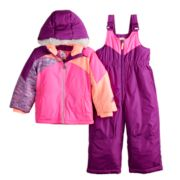 Baby Girl ZeroXposur Kasha Jacket & Bib Snowpants Set