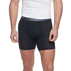 Men's Fruit of the Loom 3-pack + 1 Bonus Signature Everlight Stretch Boxer Briefs
