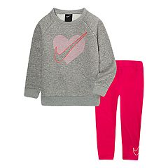 Toddler Girl Nike Logo Sweatshirt & Leggings Set