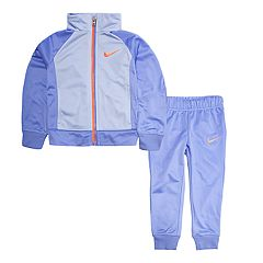 Toddler Girl Nike Colorblock Jacket & Pants Set