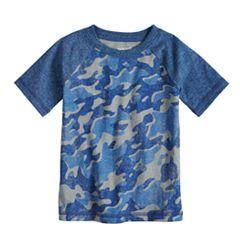 Baby Boy Jumping Beans® Camouflaged Raglan Tee