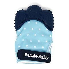 Bazzle Baby Chew Mitt Stars Teething Mitten