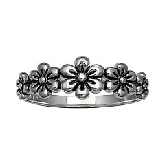 PRIMROSE Sterling Silver Flower Ring