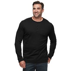 Big & Tall Croft & Barrow® Classic-Fit Easy-Care Henley