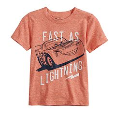 Disney / Pixar Cars Toddler Boy Lightning McQueen Graphic Tee by Jumping Beans®